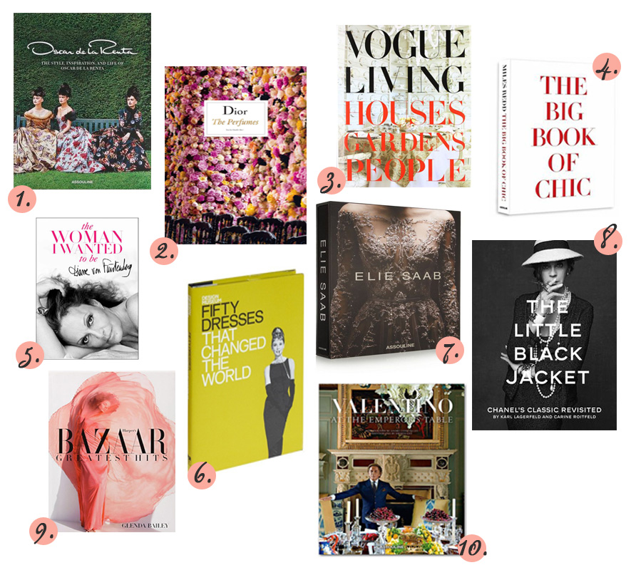 My 10 Favorite Coffee Table Books Posh Spicy
